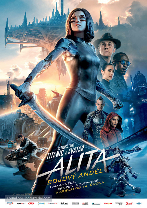 Alita: Battle Angel - Czech Movie Poster