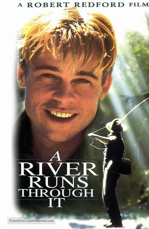 A River Runs Through It - VHS cover