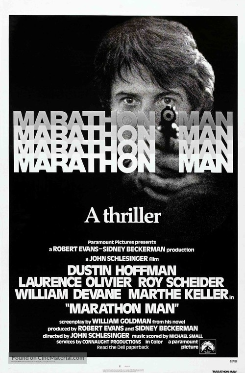 Marathon Man - Movie Poster
