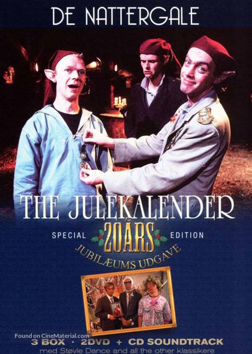 """The julekalender"" - Danish DVD cover"