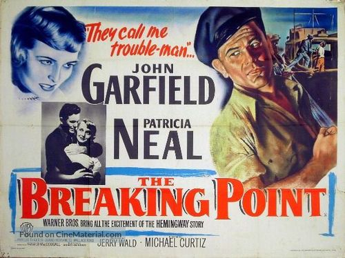 The Breaking Point - British Movie Poster