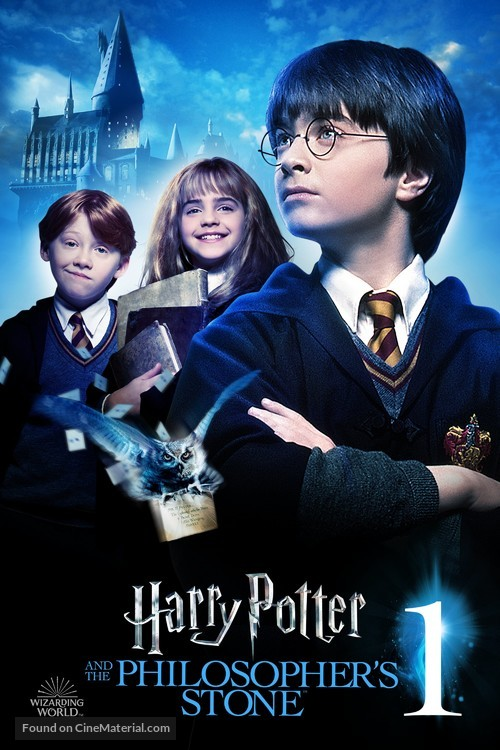 Harry Potter and the Sorcerer's Stone - British Movie Cover