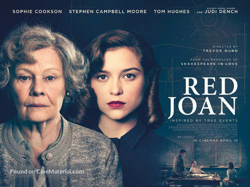 Red Joan - British Movie Poster