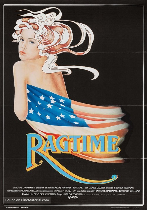 Ragtime - Italian Movie Poster