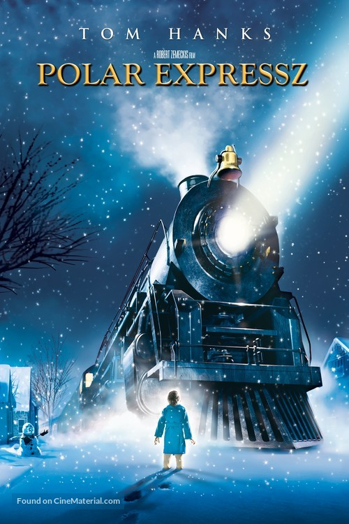 The Polar Express - Hungarian Video on demand movie cover