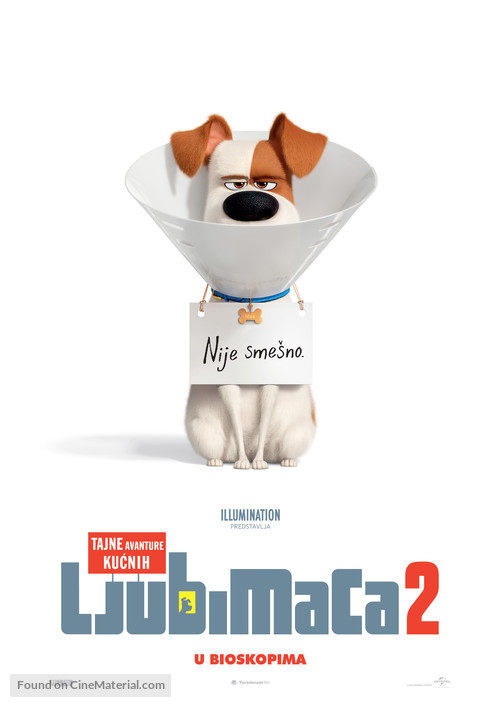 The Secret Life of Pets 2 - Serbian Movie Poster