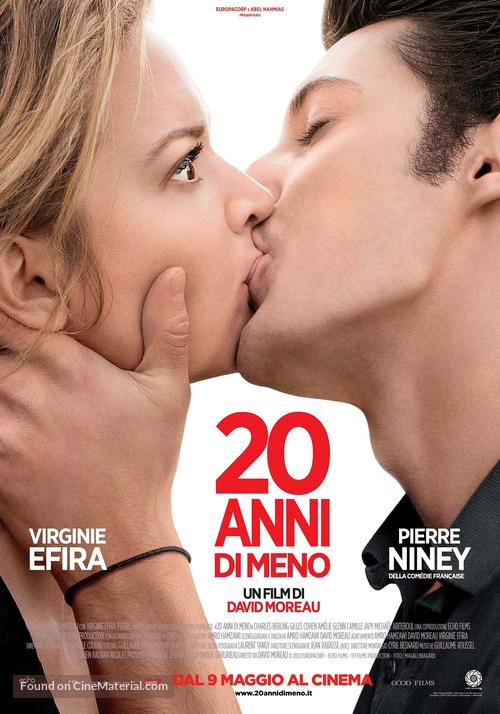 20 ans d'écart - Italian Movie Poster