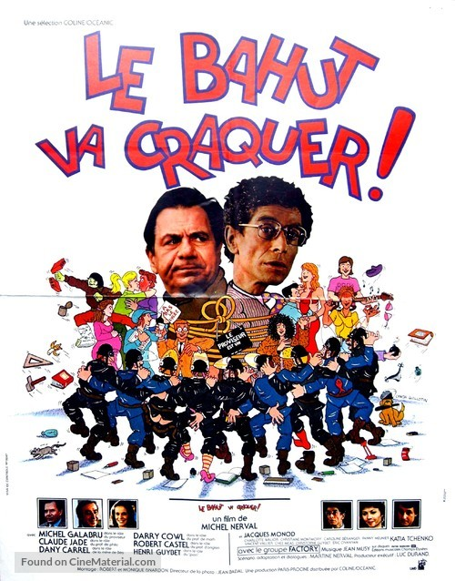 Le bahut va craquer - French Movie Poster