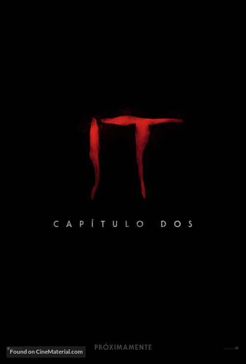 It: Chapter Two - Argentinian Movie Poster