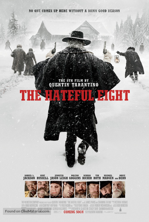 The Hateful Eight - Movie Poster