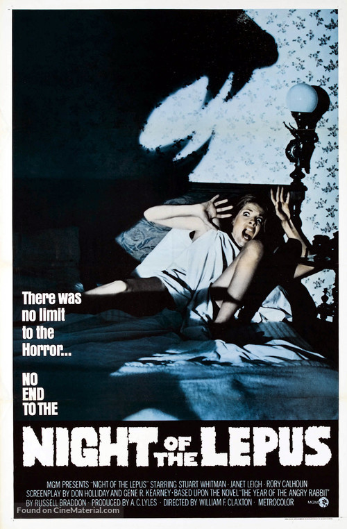 Night of the Lepus - Movie Poster