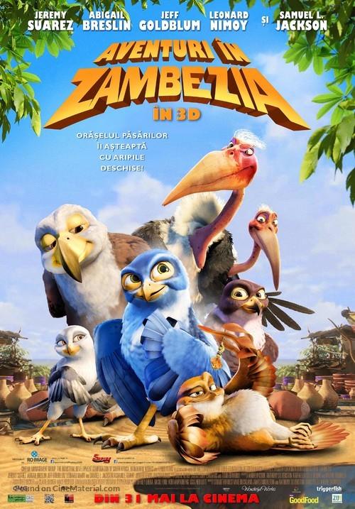 Zambezia - Romanian Movie Poster