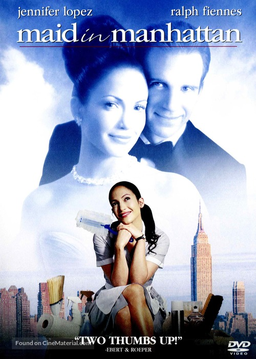 Maid in Manhattan - DVD movie cover