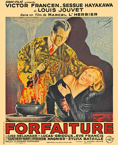 Forfaiture - French Movie Poster