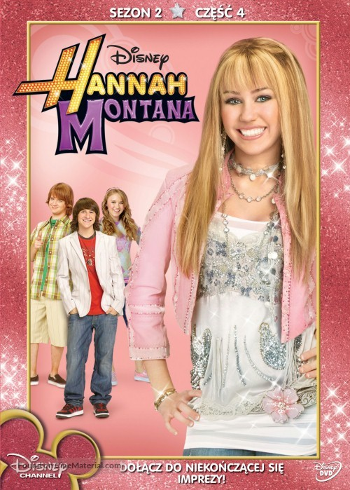 """Hannah Montana"" - Polish Movie Cover"