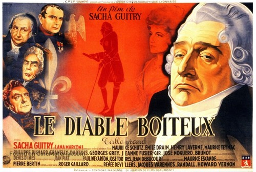 Le diable boiteux - French Movie Poster