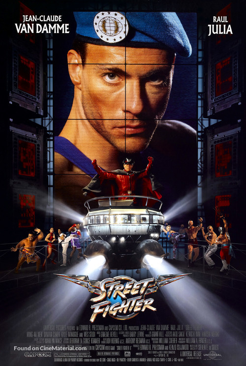 Street Fighter - Movie Poster