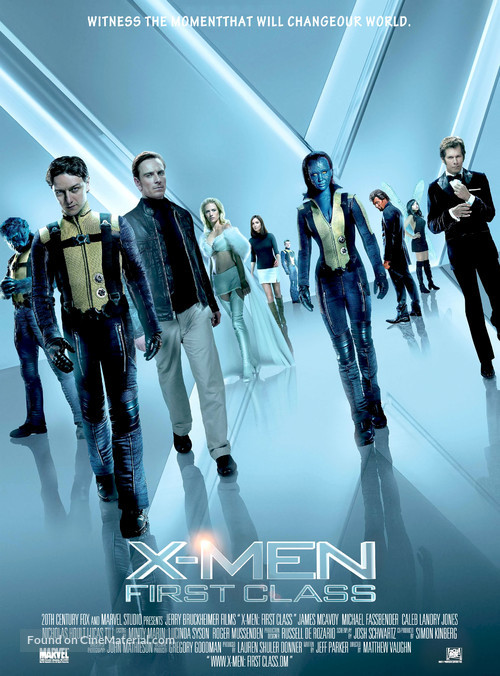 X-Men: First Class - Movie Poster