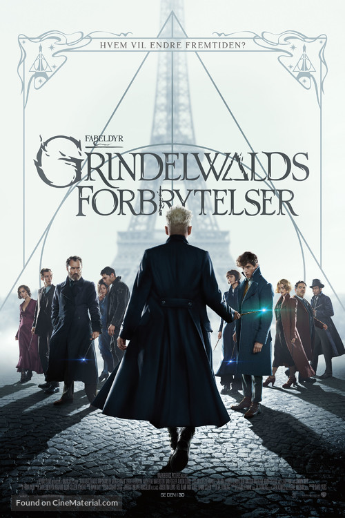 Fantastic Beasts: The Crimes of Grindelwald - Norwegian Movie Poster