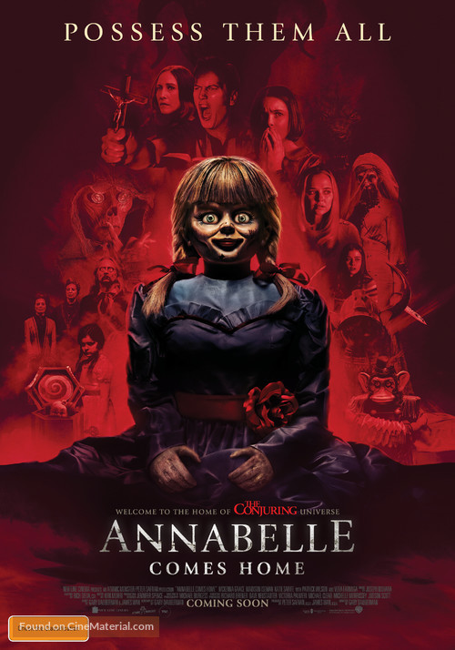 Annabelle Comes Home - Australian Movie Poster