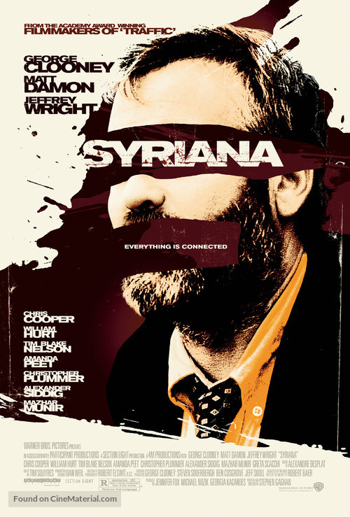 Syriana - Movie Poster