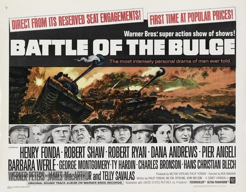 Battle of the Bulge - Theatrical poster