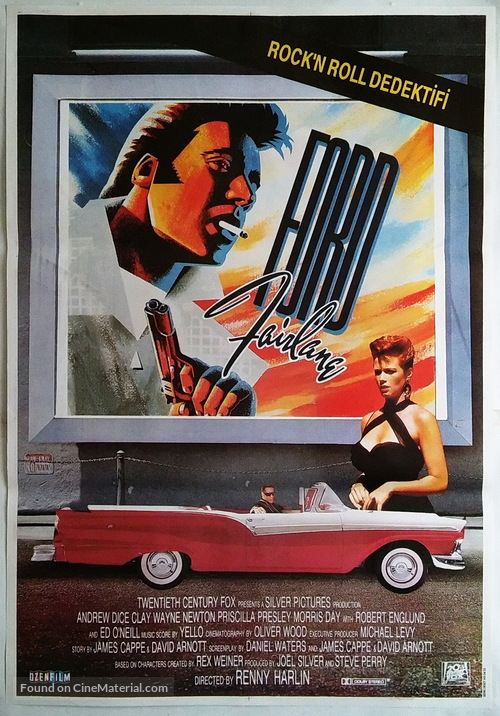 The Adventures of Ford Fairlane - Turkish Movie Poster