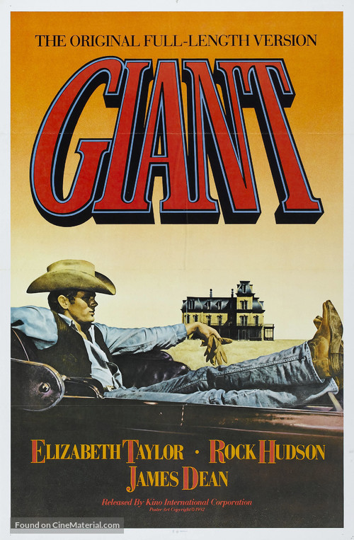 Giant - Re-release poster