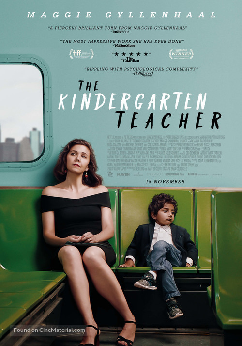 The Kindergarten Teacher - Dutch Movie Poster