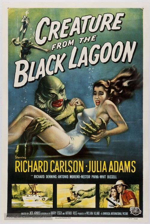 Creature from the Black Lagoon - Movie Poster