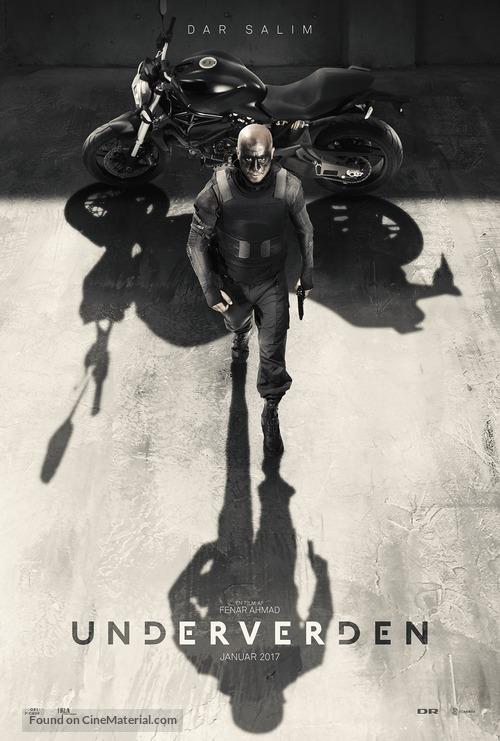 Underverden - Danish Movie Poster