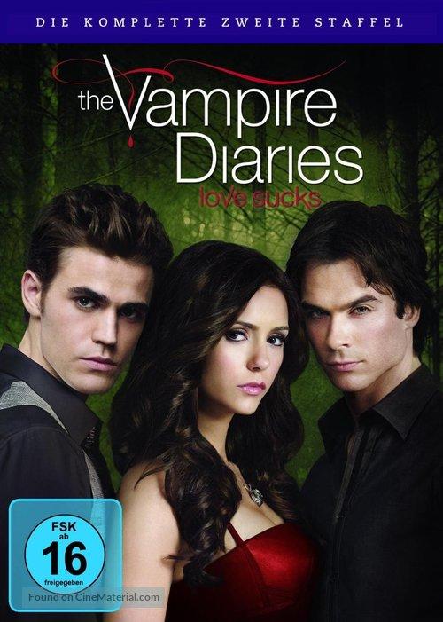 """The Vampire Diaries"" - German DVD movie cover"