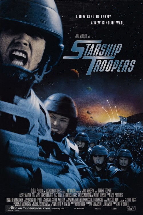 Starship Troopers - Theatrical movie poster