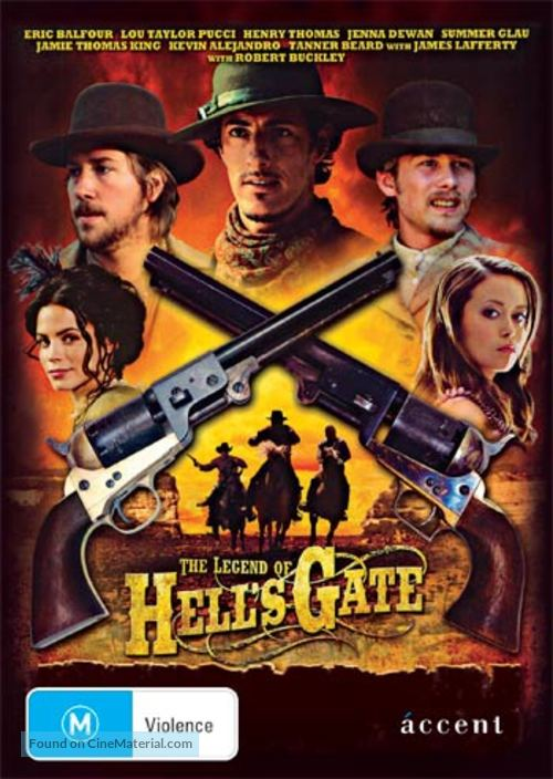 The Legend of Hell's Gate: An American Conspiracy - Australian DVD cover