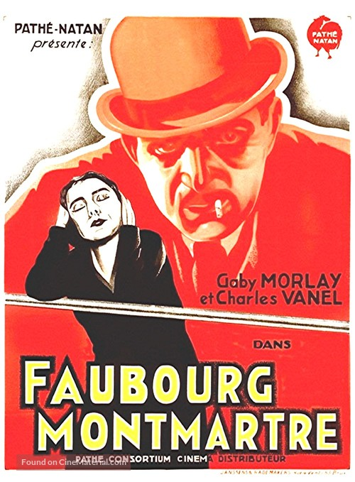 Faubourg Montmartre - French Movie Poster