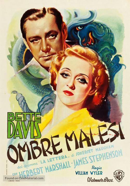 The Letter - Italian Movie Poster