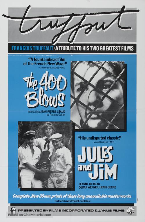 Les quatre cents coups - Combo movie poster