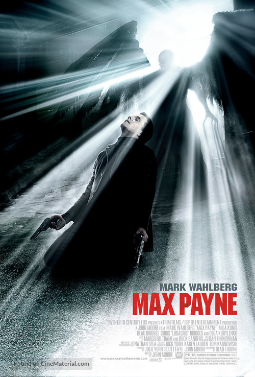 Max Payne - Movie Poster