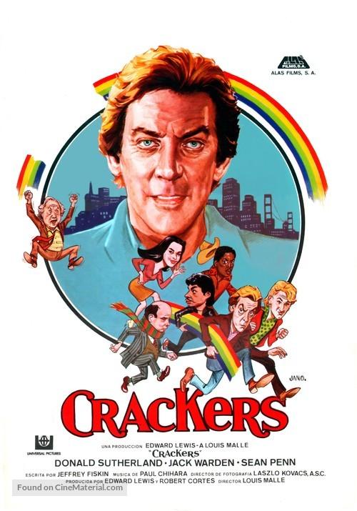 Crackers - Spanish Movie Poster