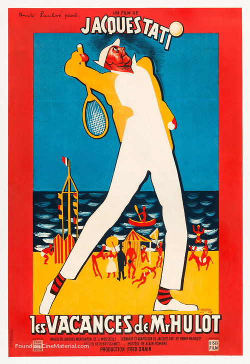 Les vacances de Monsieur Hulot - French Movie Poster
