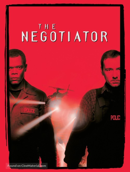 The Negotiator - DVD movie cover