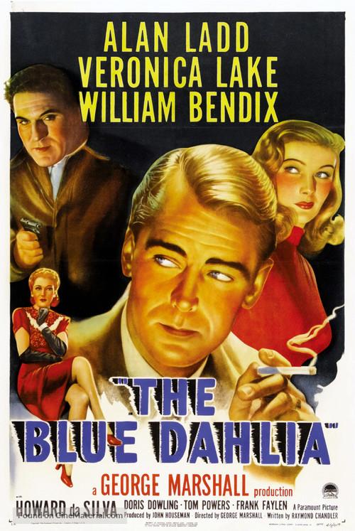 The Blue Dahlia - Movie Poster