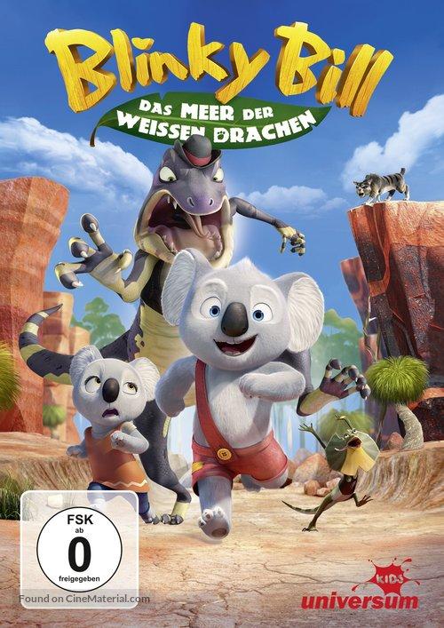 Blinky Bill the Movie - German DVD movie cover