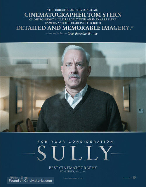 Sully - For your consideration movie poster