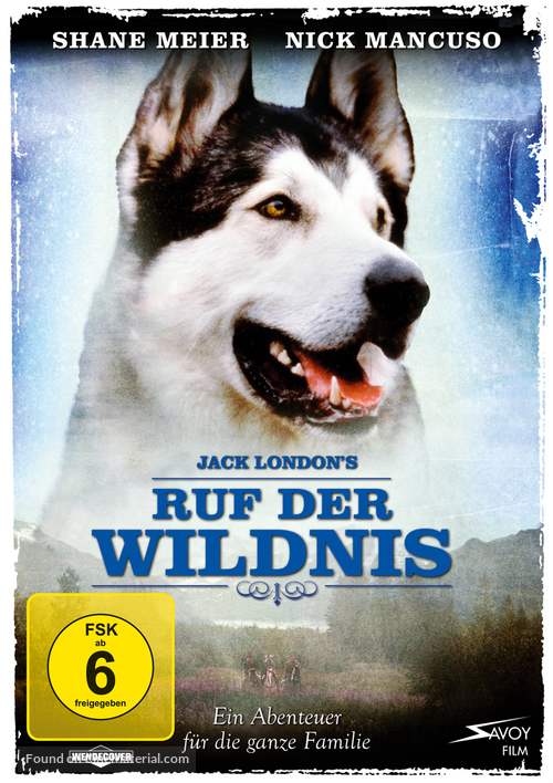 Call of the Wild - German Movie Cover