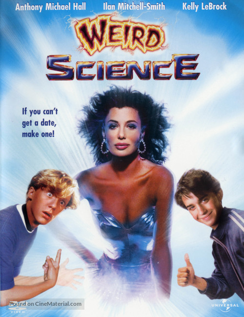Weird Science - DVD movie cover