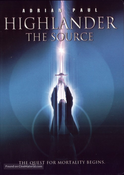 Highlander: The Source - Movie Cover