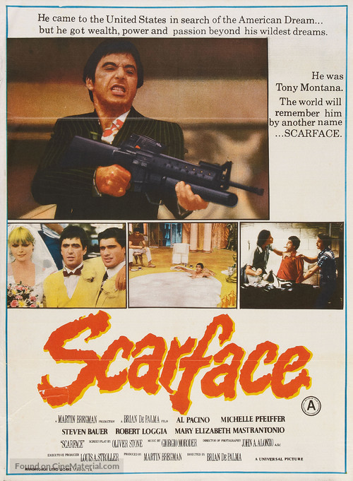 Scarface - Indian Movie Poster