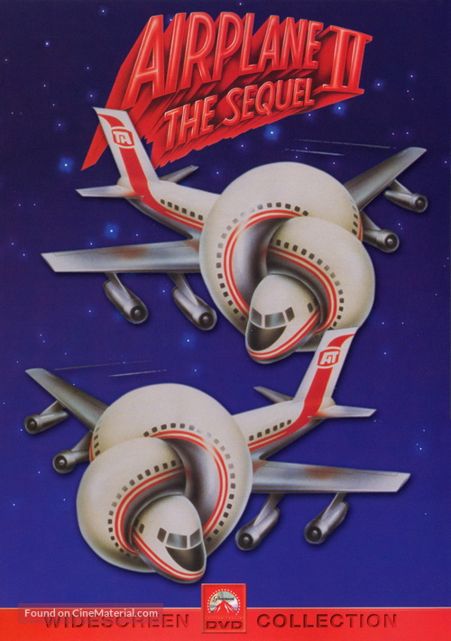 Airplane II: The Sequel - DVD cover