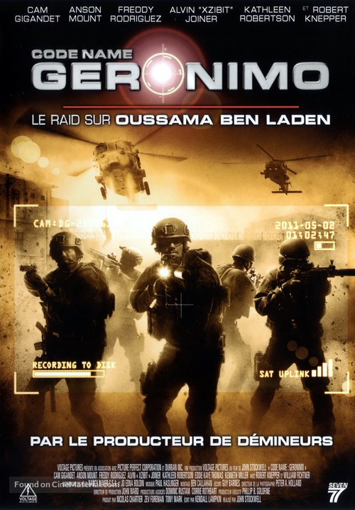 Seal Team Six: The Raid on Osama Bin Laden - French DVD cover